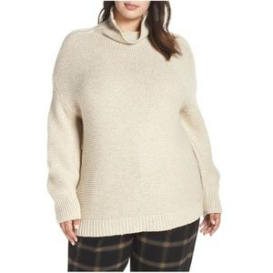Leith Cowl Neck Pullover (Plus Size)
